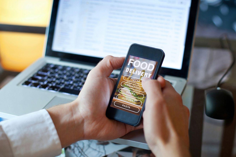 menu digital click and collect restaurant